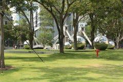 桥梁在新加坡 免版税库存图片