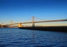 桥梁在旧金山 免版税库存照片