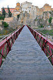 桥梁在昆卡省 免版税库存照片