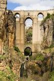 桥梁在朗达 库存图片