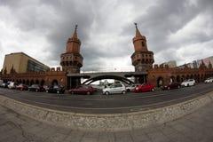 桥梁在柏林,德国 免版税库存照片