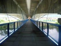 桥梁在桥梁下 免版税库存图片