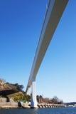 桥梁在波尔图,葡萄牙 库存照片