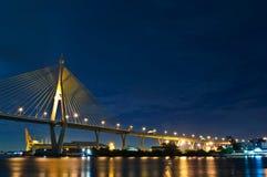 桥梁在泰国 库存图片