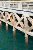 桥梁在海运 库存图片