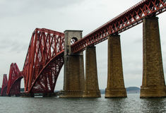 桥梁在爱丁堡,苏格兰 库存照片
