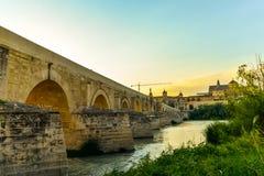 桥梁在科多巴-西班牙 免版税库存图片