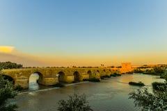 桥梁在科多巴-西班牙 免版税库存照片