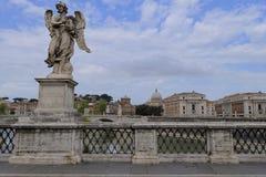桥梁在罗马,意大利 库存照片