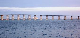 桥梁在迈阿密,佛罗里达 免版税库存照片