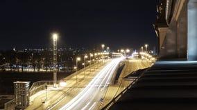 桥梁在雷根斯堡在巴伐利亚在晚上 图库摄影