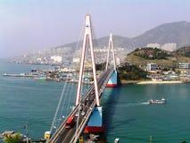 桥梁在韩国 库存照片