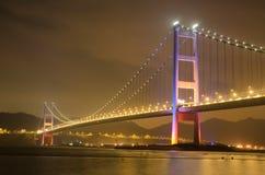 桥梁在香港 免版税图库摄影