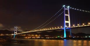 桥梁在香港 库存照片