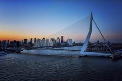 桥梁在鹿特丹 库存图片