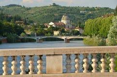 桥梁在维罗纳 免版税图库摄影