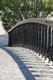 桥梁在Herastrau公园 免版税库存图片