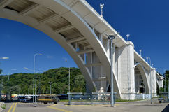 桥梁在Matsesta 免版税库存图片