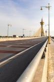 桥梁在Nonthaburi泰国 库存图片