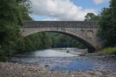 桥梁在Teesdale 库存图片