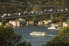 桥梁地区fatih伊斯坦布尔mehmet苏丹 库存照片