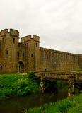 桥梁城堡门 免版税图库摄影