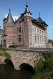 桥梁城堡 免版税库存图片