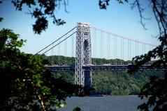桥梁城市乔治新的华盛顿约克 免版税库存图片