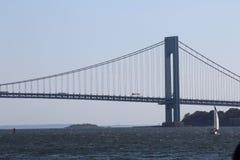 桥梁城市纽约 图库摄影