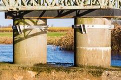 桥梁基础 免版税库存图片