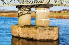 桥梁基础 库存图片