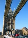 桥梁塔 库存照片