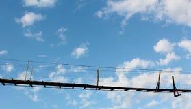 桥梁天空 库存图片