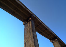 桥梁天空 图库摄影