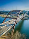 360桥梁奥斯汀得克萨斯 免版税库存照片