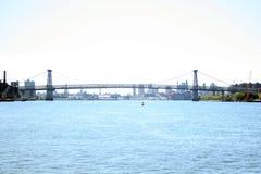 桥梁威廉斯堡 图库摄影