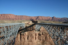 桥梁孪生 库存照片