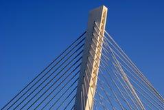 桥梁定向塔 图库摄影