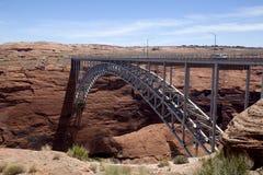 桥梁峡谷水坝幽谷 免版税库存照片