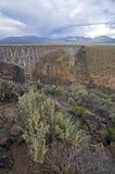 桥梁峡谷 库存图片