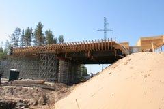 桥梁工程 免版税库存照片