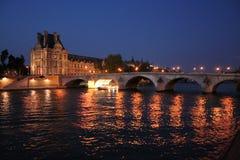 桥梁巴黎 免版税图库摄影