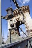 桥梁布达佩斯 库存照片