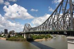 桥梁布里斯班 库存照片