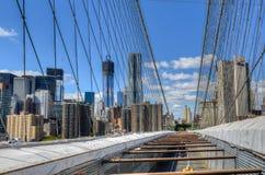 桥梁布鲁克林新的地平线约克 库存图片