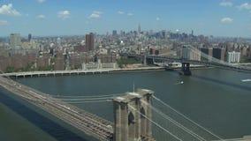 桥梁布鲁克林曼哈顿 影视素材