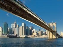 桥梁布鲁克林纽约 免版税图库摄影