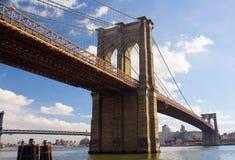 桥梁布鲁克林 图库摄影