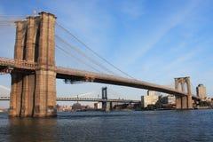桥梁布鲁克林 库存照片