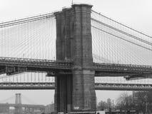 桥梁布鲁克林 免版税库存图片